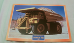 Caterillar 793C 1975 construction dump truck framed picture